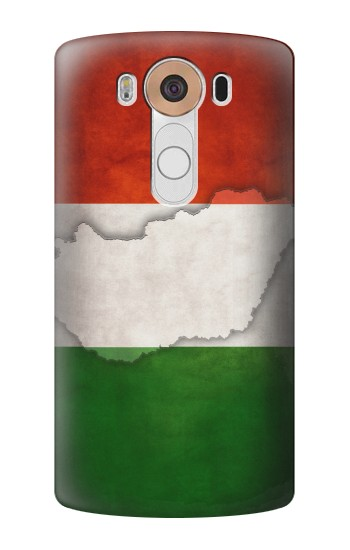 Printed Hungary Flag LG V10 Case