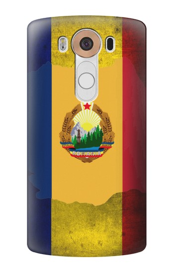 Printed Romania Flag LG V10 Case