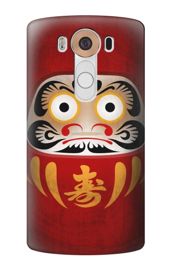 Printed Japan Good Luck Daruma Doll LG V10 Case
