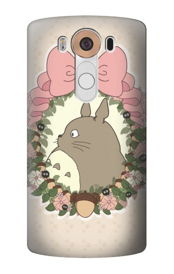 Printed My Neighbor Totoro Wreath LG V10 Case