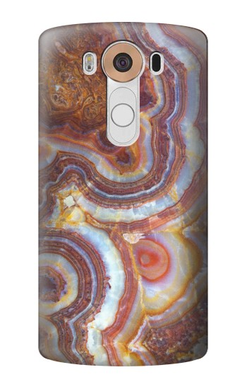 Printed Colored Marble Texture Printed LG V10 Case