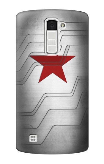 Printed Winter Soldier Bucky Arm Texture LG K10 Case