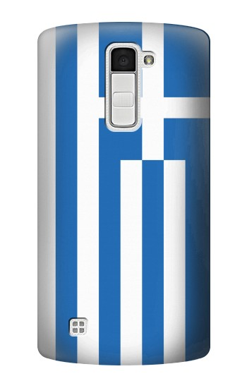 Printed Flag of Greece LG K10 Case