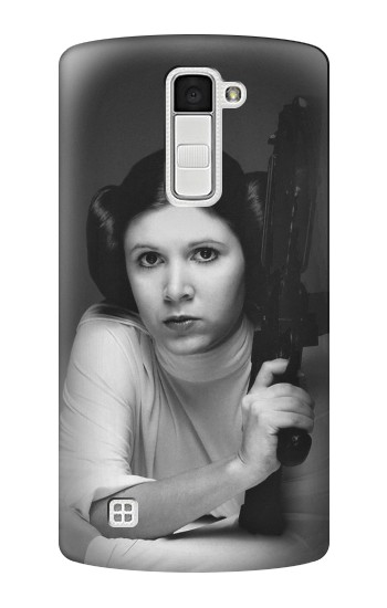 Printed Princess Leia Carrie Fisher LG K10 Case