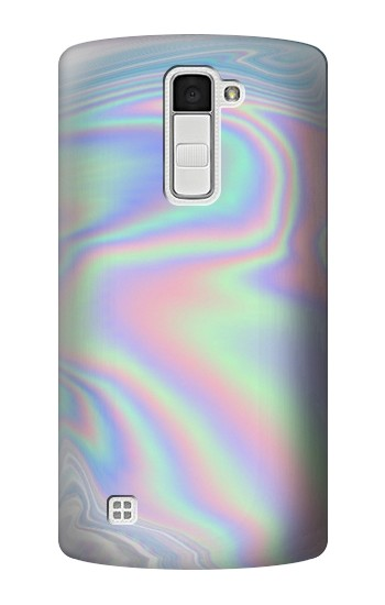 Printed Pastel Holographic Photo Printed LG K10 Case