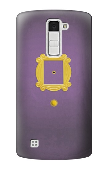 Printed Friends Purple Door Minimalist LG K10 Case