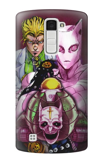 Printed Jojo Bizarre Adventure Kira Yoshikage Killer Queen LG K10 Case