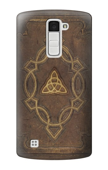 Printed Spell Book Cover LG K10 Case