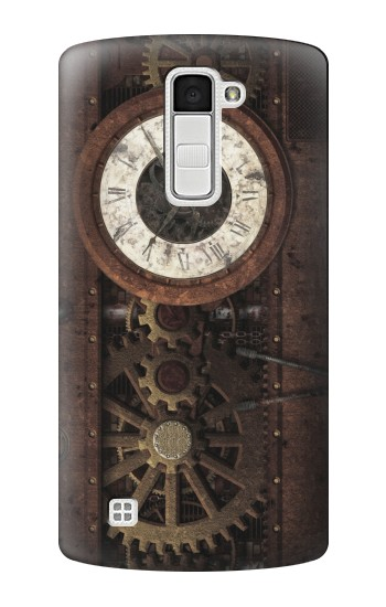 Printed Steampunk Clock Gears LG K10 Case