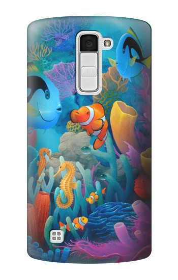 Printed Underwater World Cartoon LG K10 Case