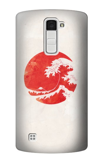 Printed Waves Japan Flag LG K10 Case