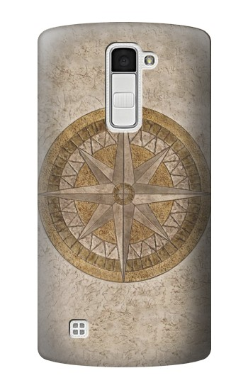 Printed Windrose Circle Stamp LG K10 Case