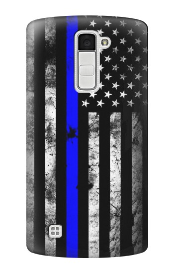 Printed Thin Blue Line USA LG K10 Case