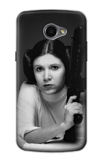 Printed Princess Leia Carrie Fisher LG G Pro 2 Case