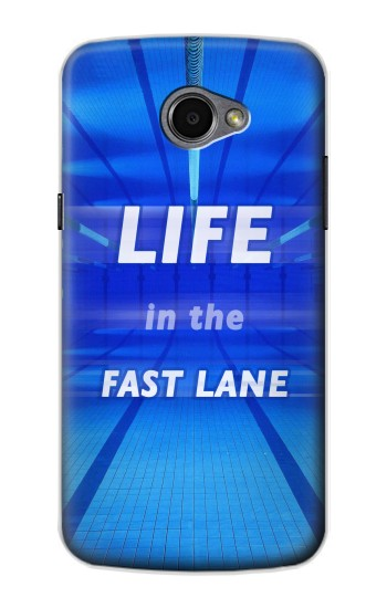Printed Life in the Fast Lane Swimming Pool LG G Pro 2 Case