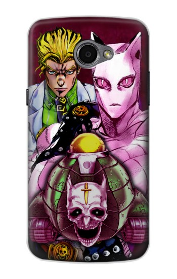 Printed Jojo Bizarre Adventure Kira Yoshikage Killer Queen LG G Pro 2 Case