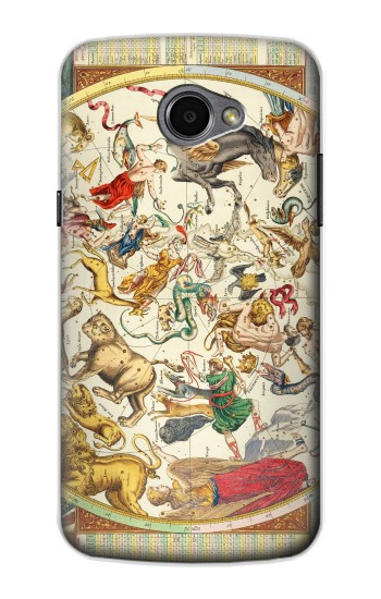 Printed Antique Constellation Map LG G Pro 2 Case