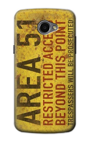 Printed Area 51 Restricted Access Warning Sign LG G Pro 2 Case