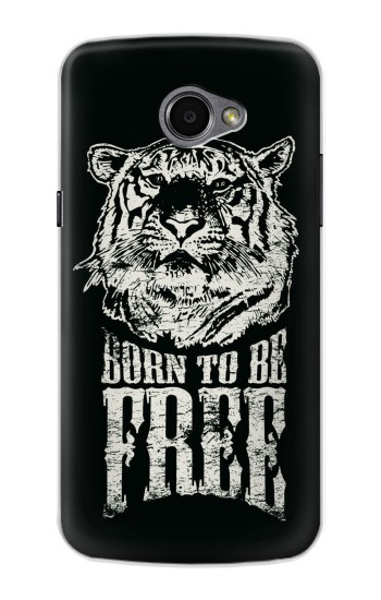 Printed Born to Be Free Tiger LG G Pro 2 Case