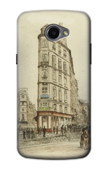 Printed Boulevards of Paris LG G Pro 2 Case