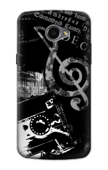 Printed Music Cassette Note LG G Pro 2 Case
