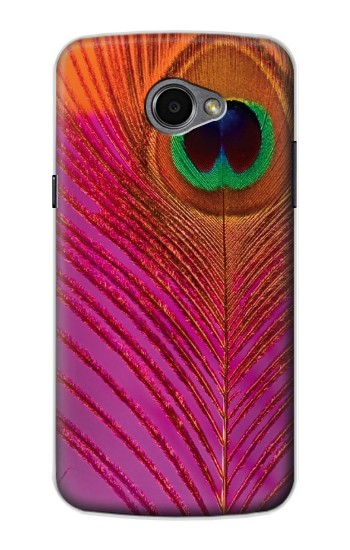 Printed Pink Peacock Feather LG G Pro 2 Case