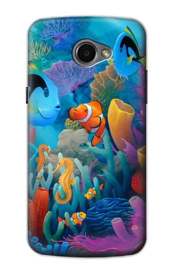 Printed Underwater World Cartoon LG G Pro 2 Case