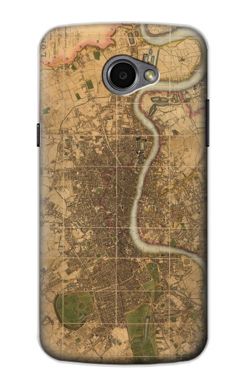 Printed Vintage Map of London LG G Pro 2 Case
