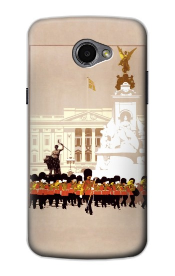 Printed Vintage Travel Brochure London LG G Pro 2 Case
