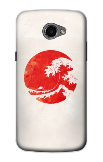 Printed Waves Japan Flag LG G Pro 2 Case