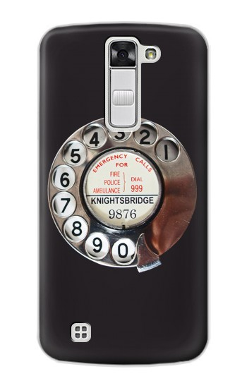 Printed Retro Rotary Phone Dial On LG G Stylo Case