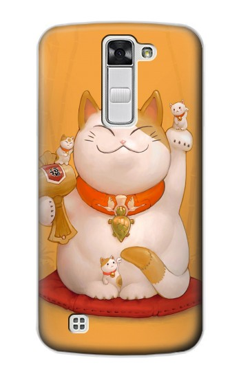 Printed Maneki Neko Lucky Cat LG G Stylo Case