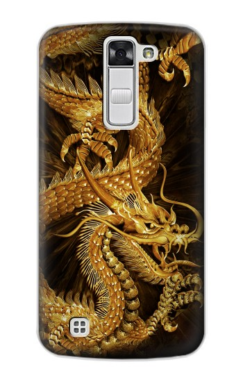 Printed Chinese Gold Dragon Printed LG G Stylo Case