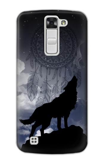 Printed Dream Catcher Wolf Howling LG G Stylo Case