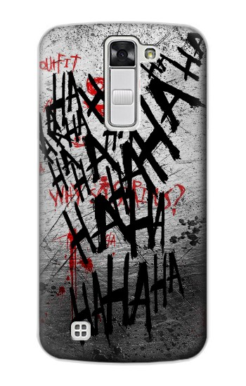 Printed Joker Hahaha Blood Splash LG G Stylo Case