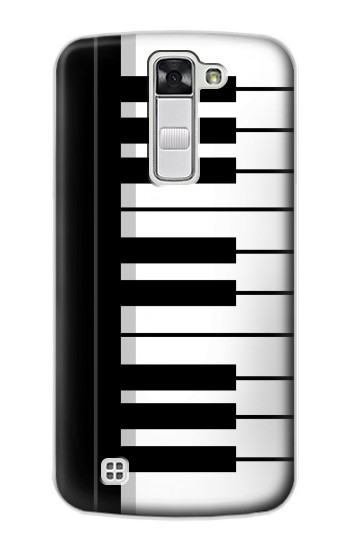 Printed Black and White Piano Keyboard LG G Stylo Case