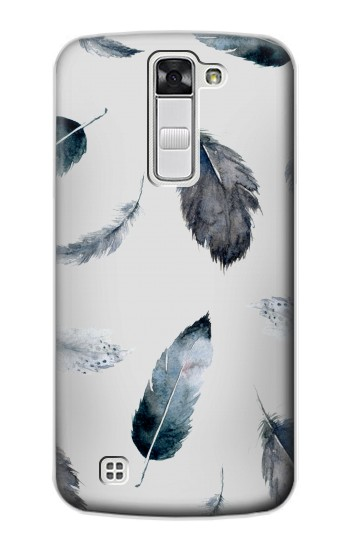 Printed Feather Paint Pattern LG G Stylo Case