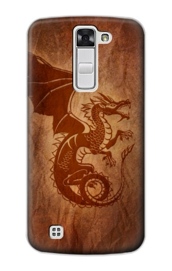 Printed Red Dragon Tattoo LG G Stylo Case
