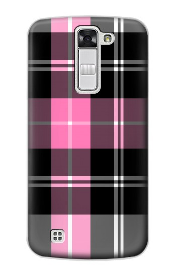 Printed Pink Plaid Pattern LG G Stylo Case