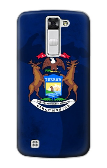 Printed State of Michigan Flag LG G Stylo Case