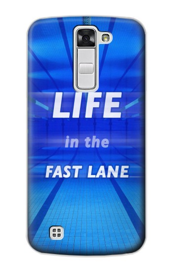 Printed Life in the Fast Lane Swimming Pool LG G Stylo Case