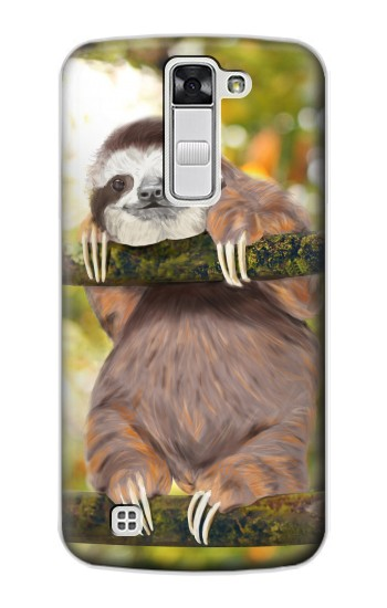 Printed Cute Baby Sloth Paint LG G Stylo Case