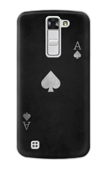 Printed Black Ace of Spade LG G Stylo Case