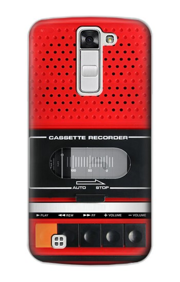 Printed Red Cassette Recorder Graphic LG G Stylo Case