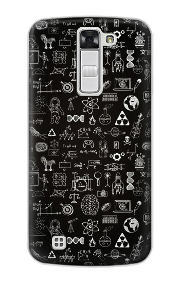 Printed Blackboard Science LG G Stylo Case