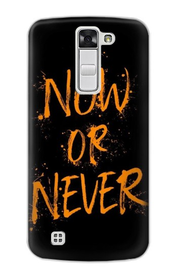 Printed Now or Never LG G Stylo Case