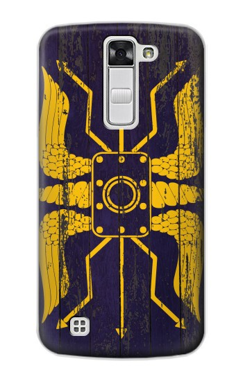 Printed Roman Shield Blue LG G Stylo Case