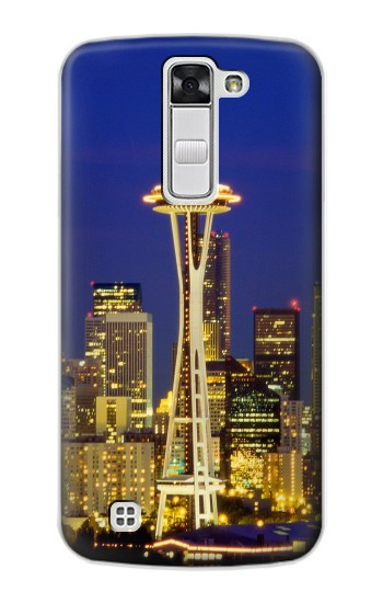 Printed Space Needle Seattle Skyline LG G Stylo Case
