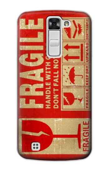 Printed Vintage Fragile Label Art LG G Stylo Case
