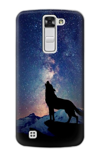Printed Wolf Howling Million Star LG G Stylo Case